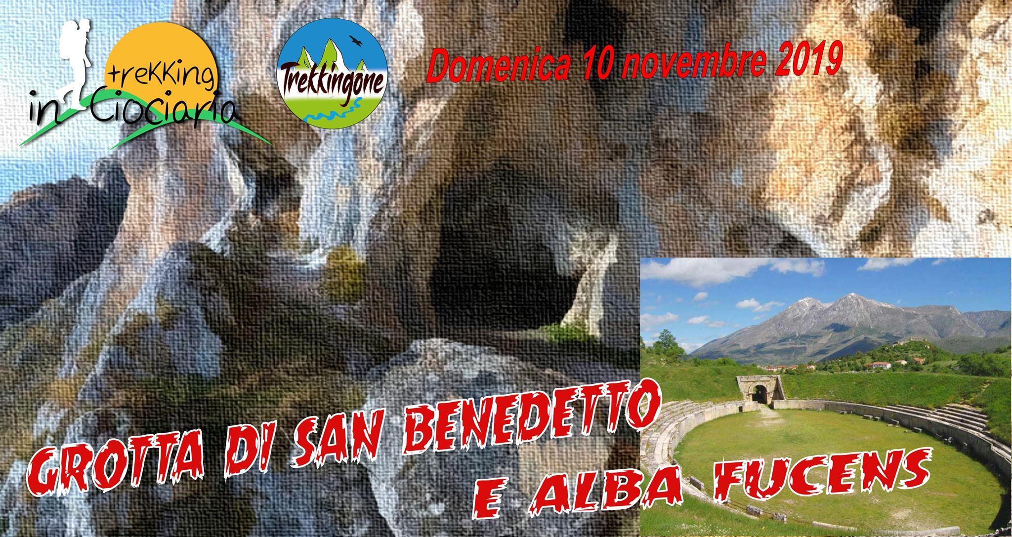 La grotta di San Benedetto – Monte Velino