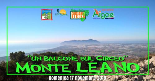 Un balcone sul Circeo – Monte Leano