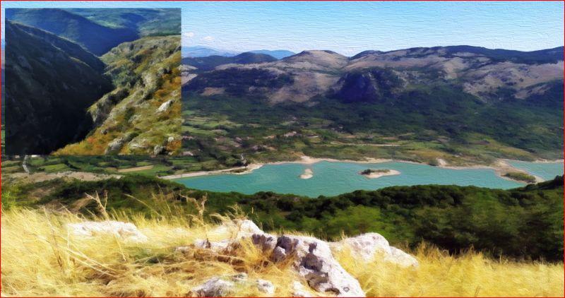 Monte Favaracchi, tra rave e laghi