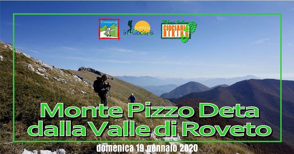 Pizzo Deta dalla valle di Roveto