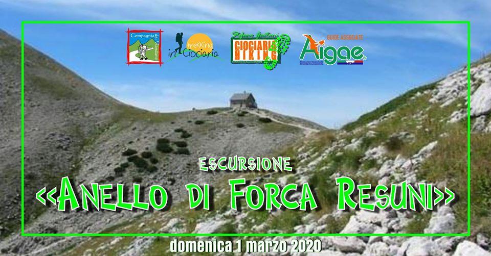 Anello Val di Rose – Forca Resuni – Valle Jannanghera