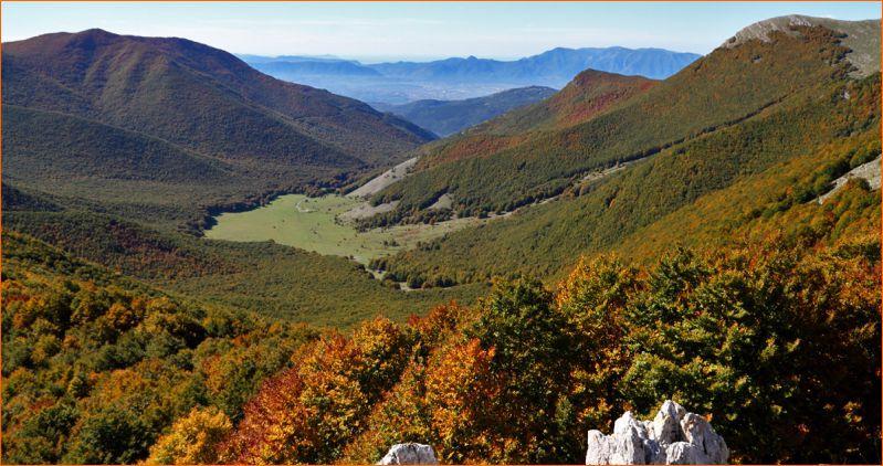 Pizzo Deta e Monte Passeggio in autunno